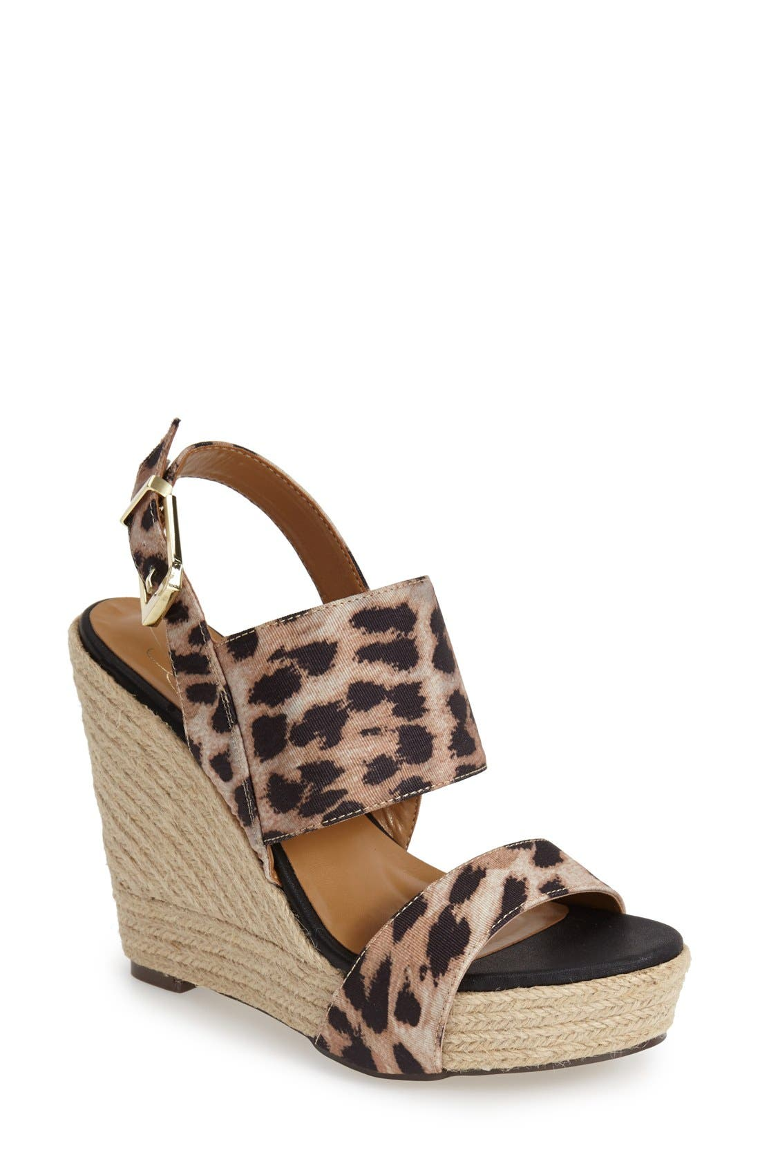 Main Image - REPORT Signature 'Cass' Wedge Sandal (Women)