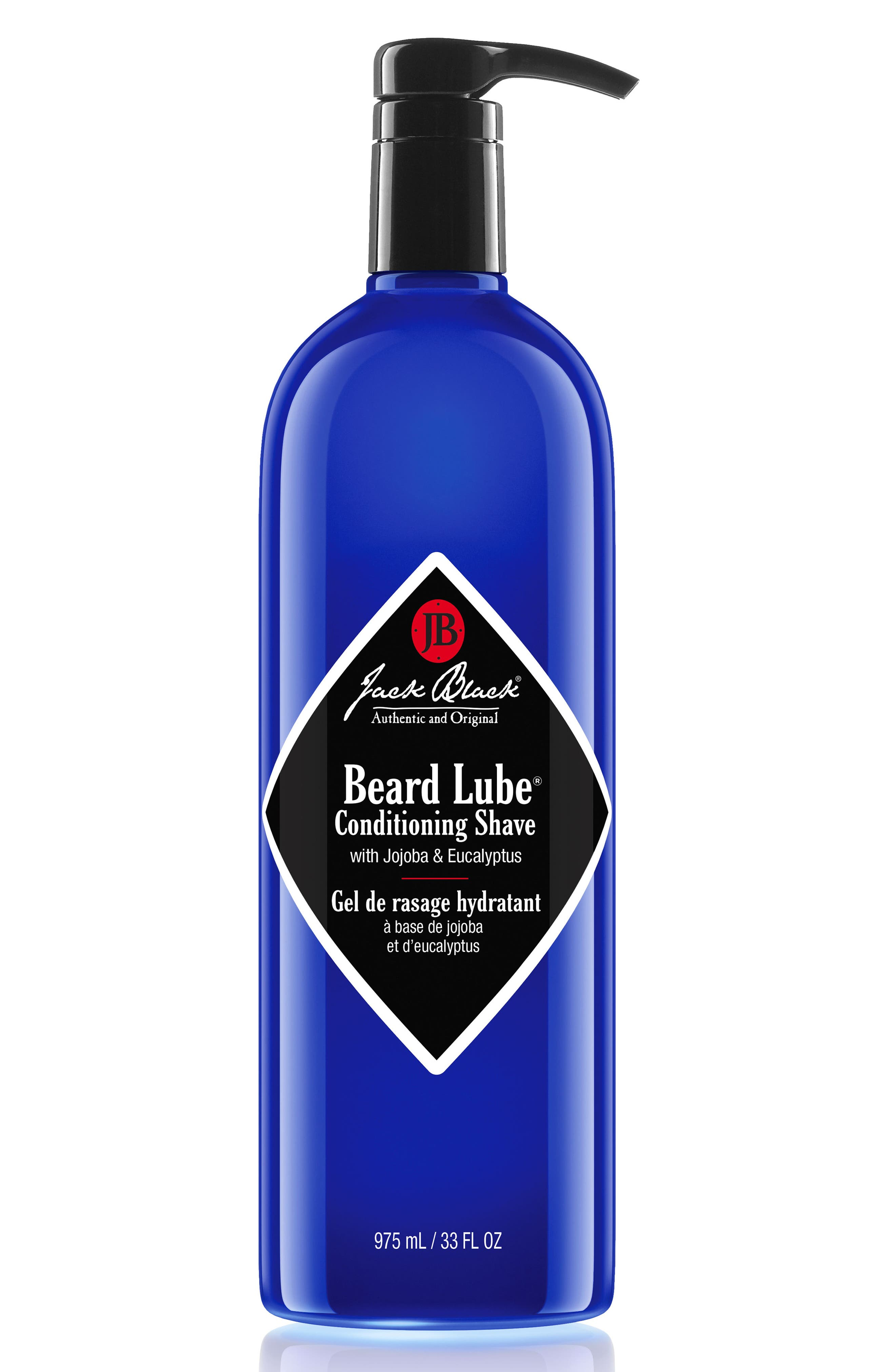 Jumbo Beard Lube Conditioning Shave,                             Main thumbnail 1, color,                             No Color