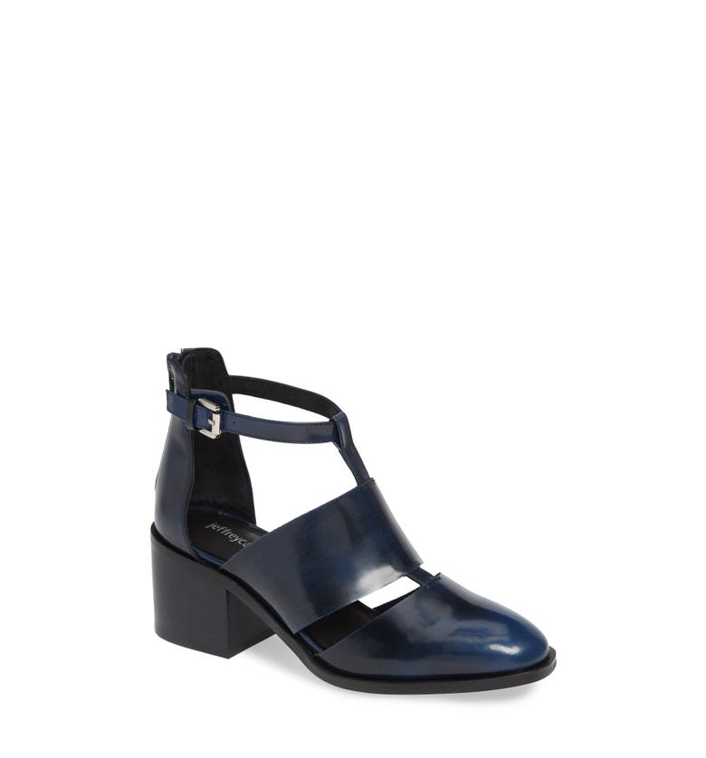 089a83ef6f7 Jeffrey Campbell  Melina  T-Strap Shoe In Navy Rub Off