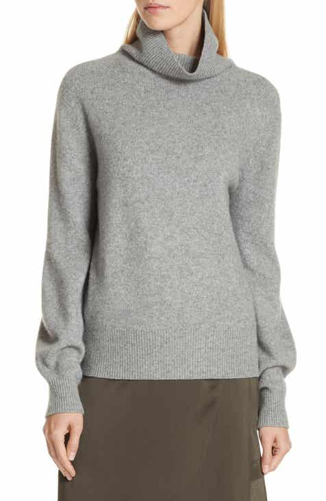 Vince Bishop Sleeve Cashmere Sweater by VINCE