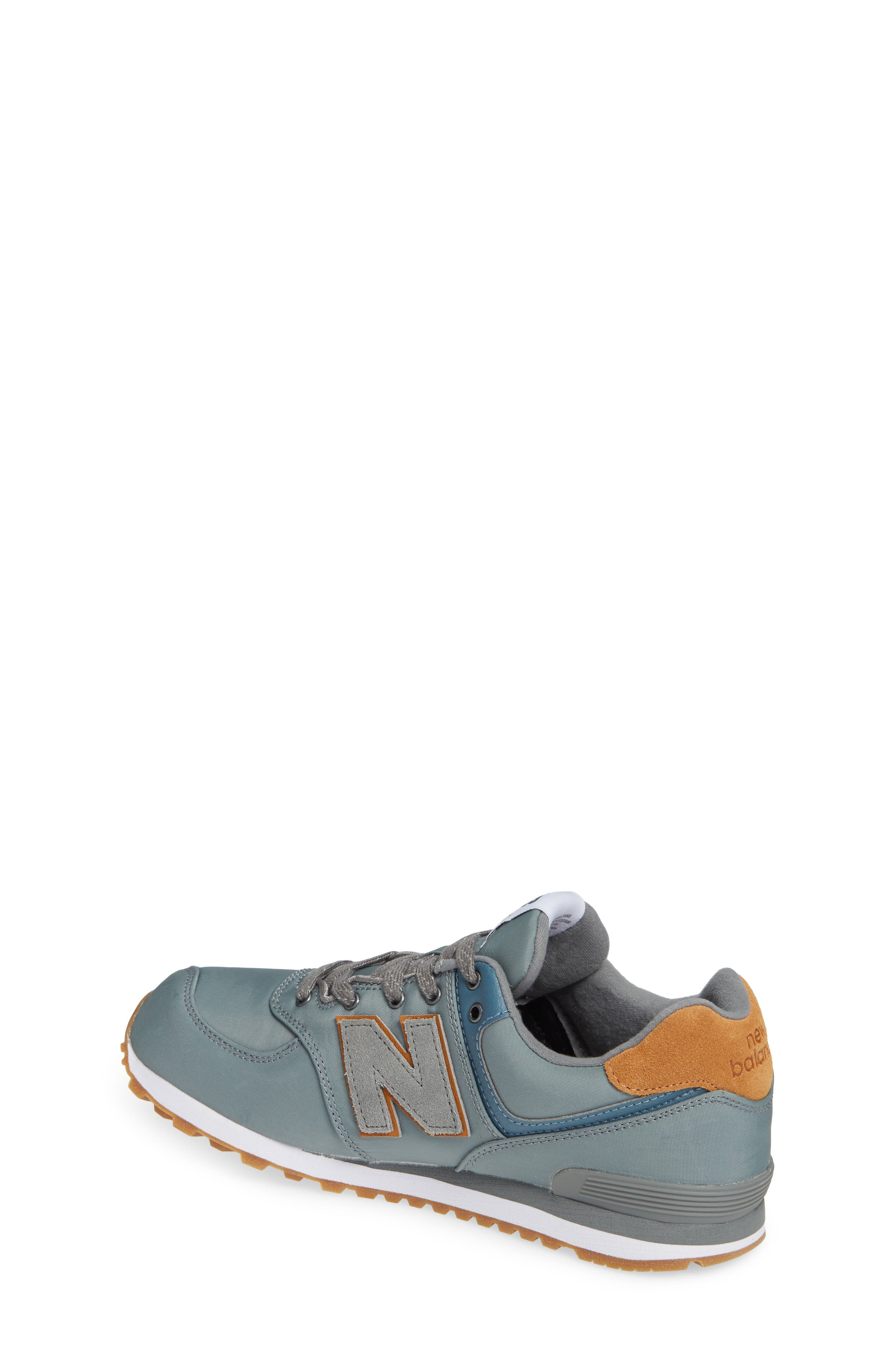 574 Essentials Sneaker,                             Alternate thumbnail 2, color,                             Sedona Sage