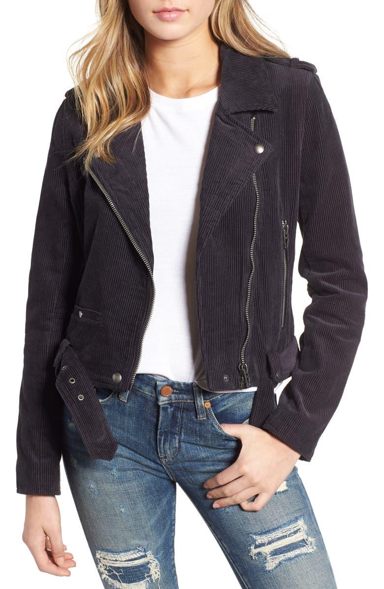 Corduroy Moto Jacket | Nordstrom