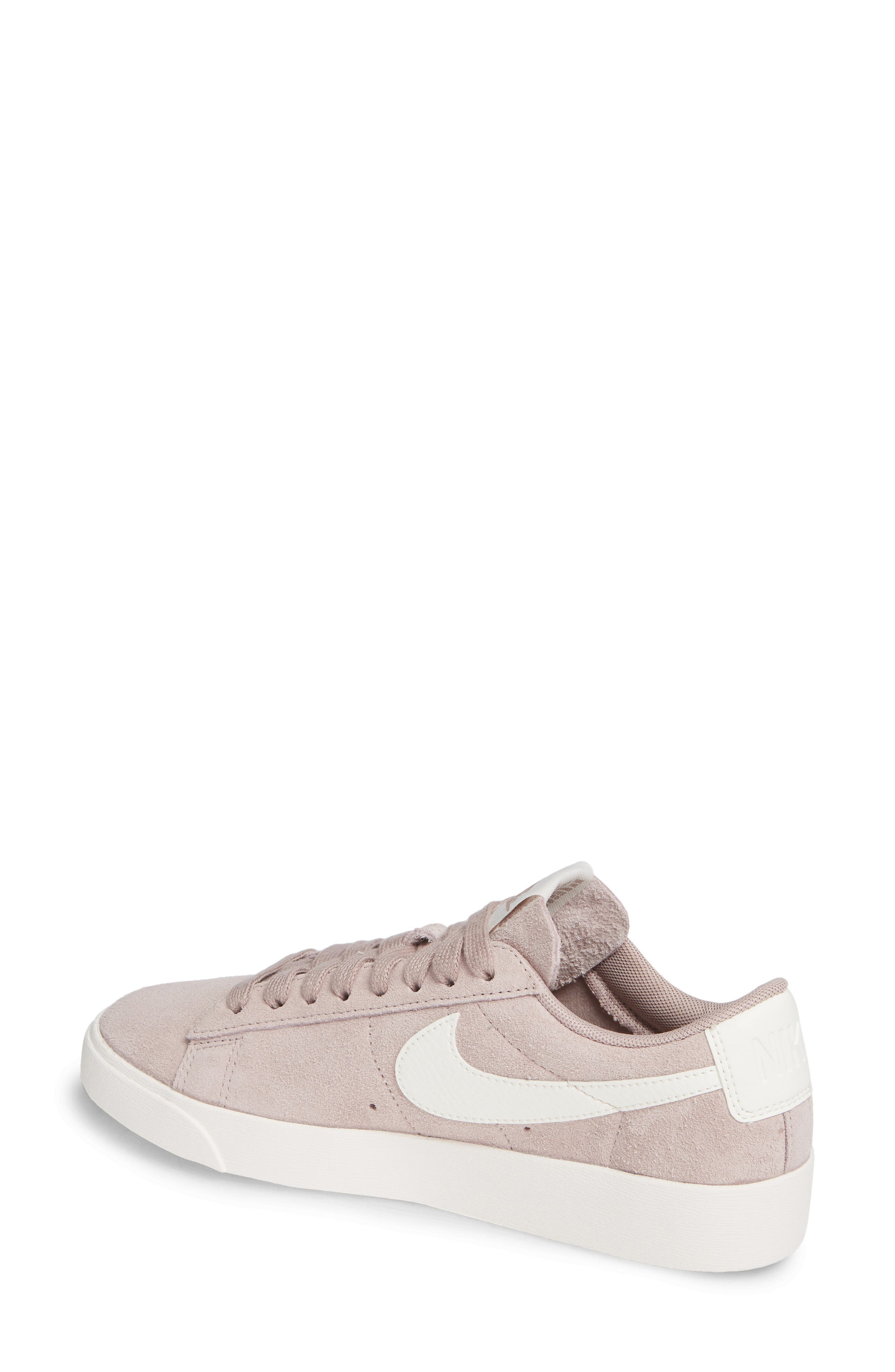 Blazer Low Sneaker,                             Alternate thumbnail 2, color,                             Diffused Taupe/ Sail