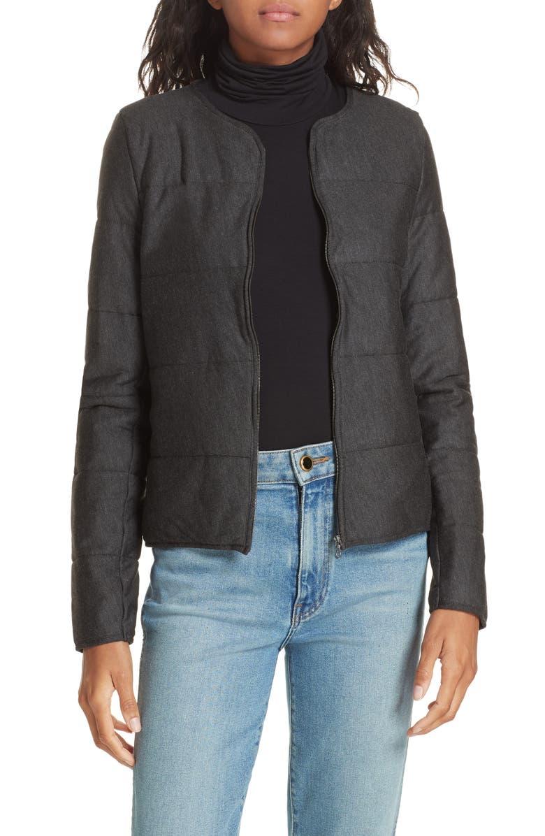 Quilted Bolero Jacket
