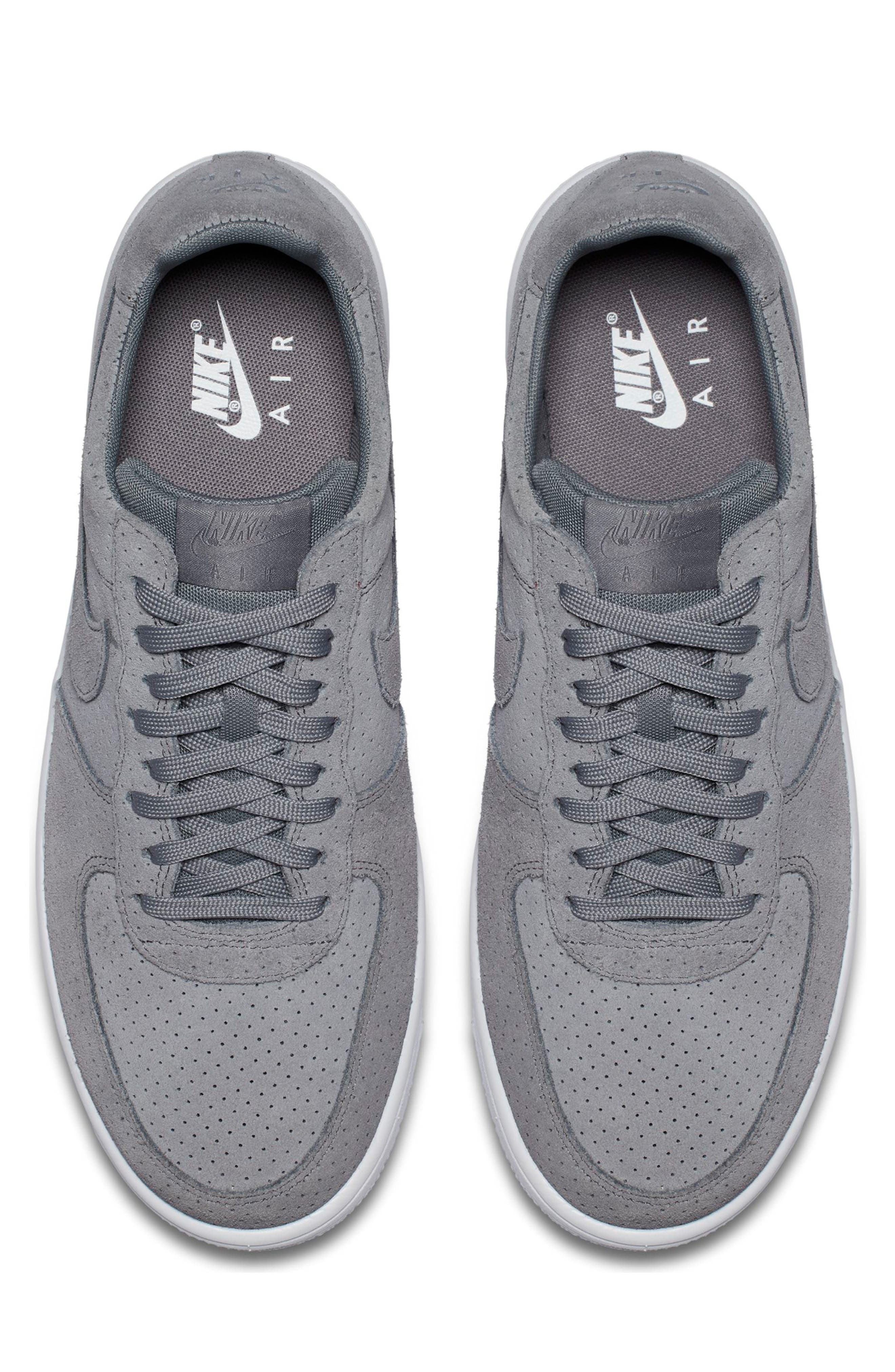 Air Force 1 Ultraforce Sneaker,                             Alternate thumbnail 5, color,                             Cool Grey/ White