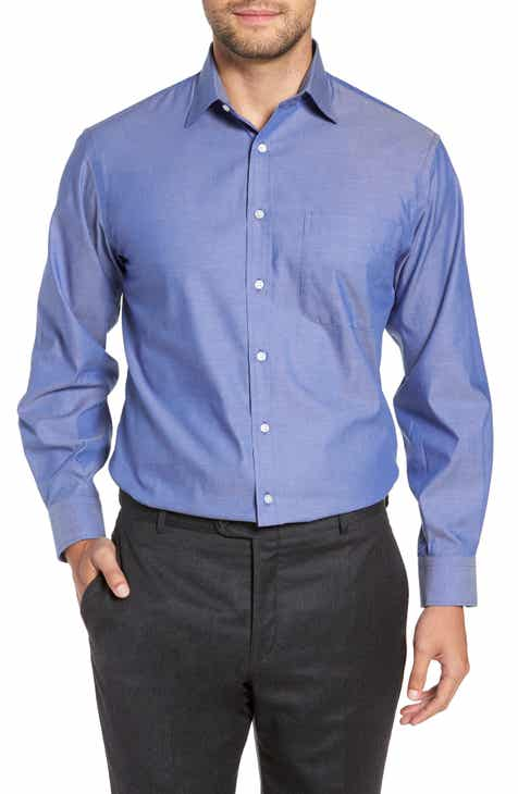 nordstrom mens shop classic fit non iron solid dress shirt