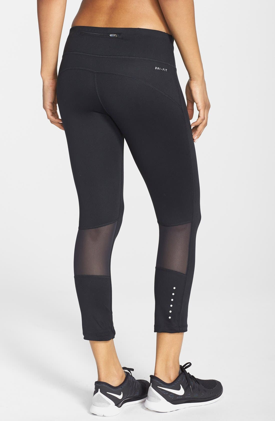 Alternate Image 2  - Nike 'Epic Run' Dri-FIT Crop Tights