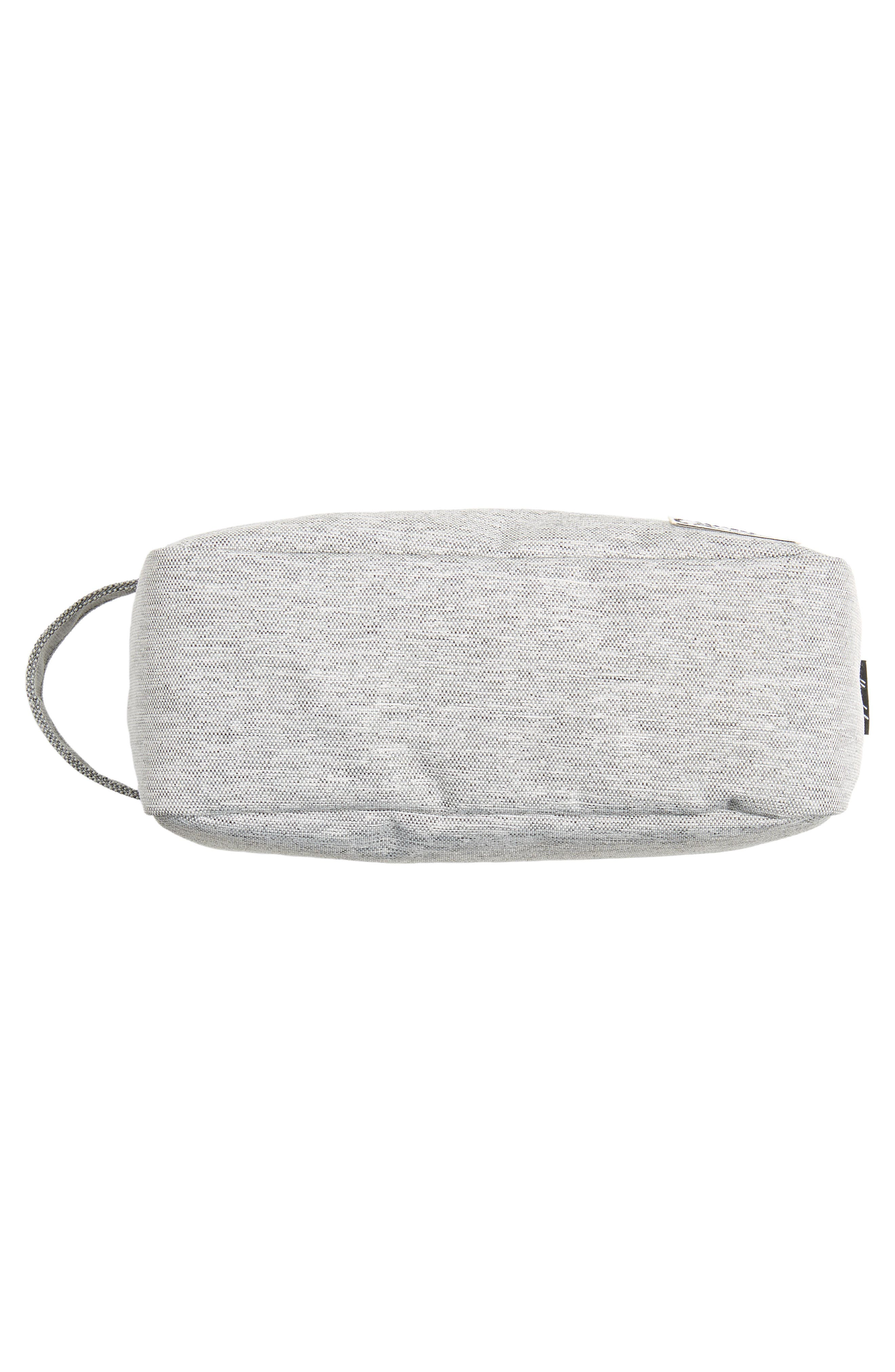 Chapter Carry-On Travel Kit,                             Alternate thumbnail 3, color,                             Light Grey Crosshatch