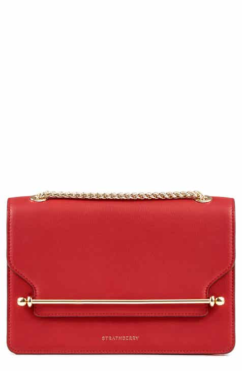 8e28d75ade13 Strathberry East West Leather Crossbody Bag