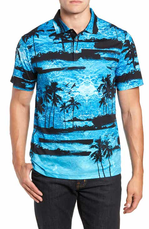 Men s Hawaiian Polo Shirts  e7b23fa3a