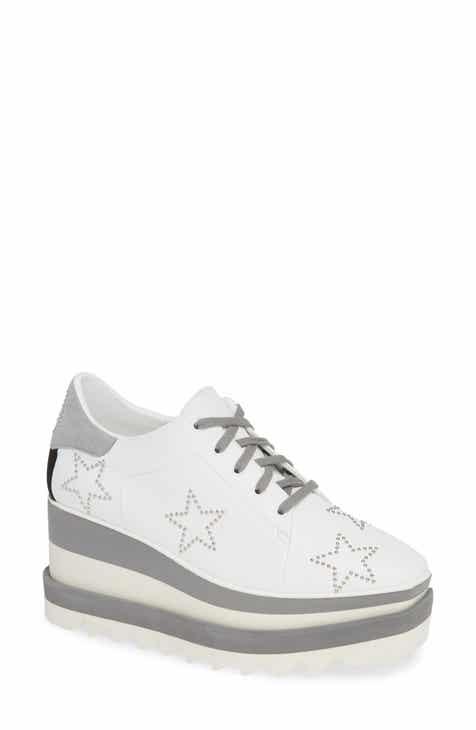 a5ef4dd419b3 Stella McCartney Sneak-Elyse Studded Wedge Sneaker (Women)