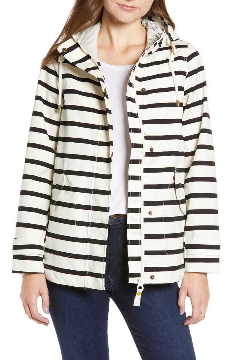 Right as Rain Print Waterproof Hooded Jacket