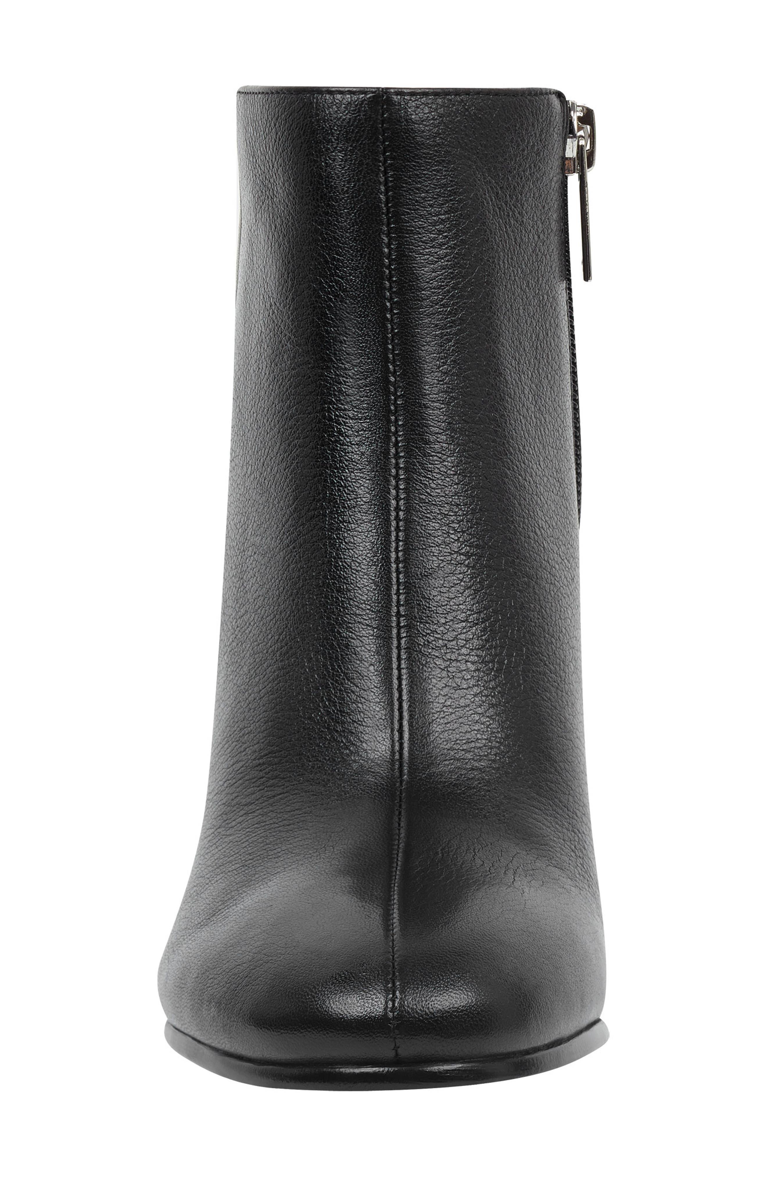 Quella Bootie,                             Alternate thumbnail 3, color,                             Black Leather