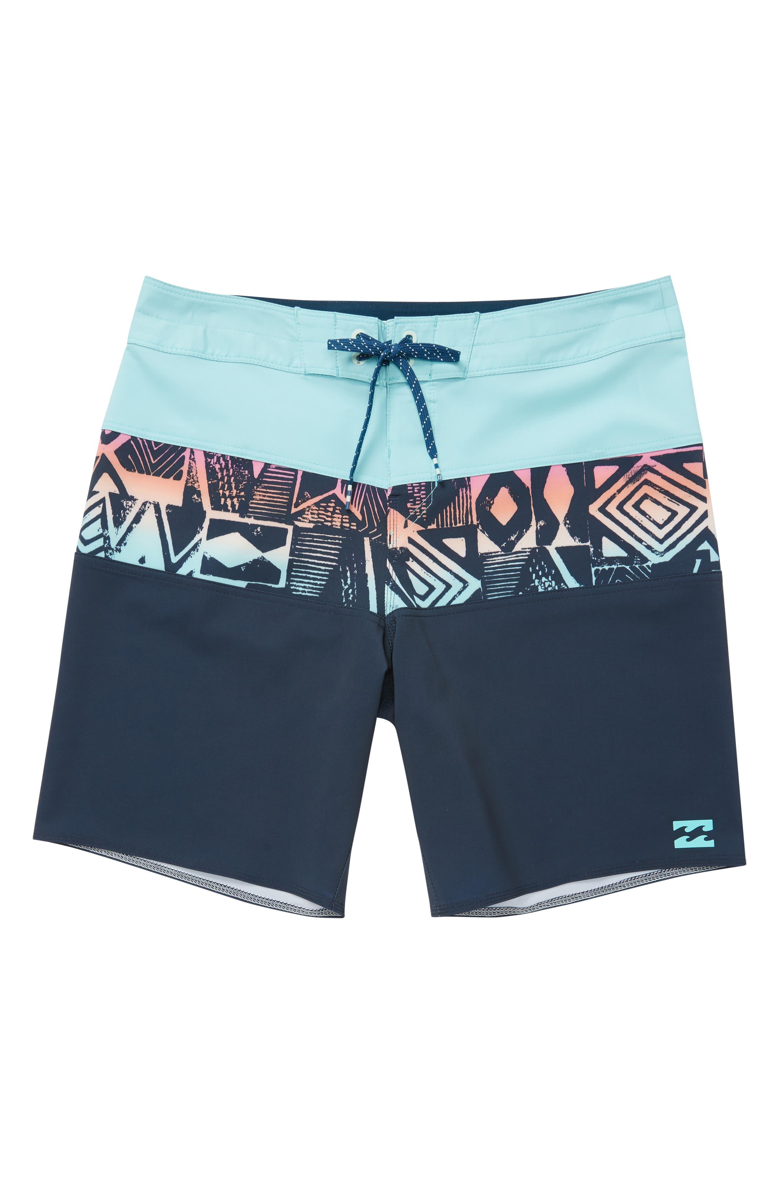 Tribong X Board Shorts,                         Main,                         color, Indigo