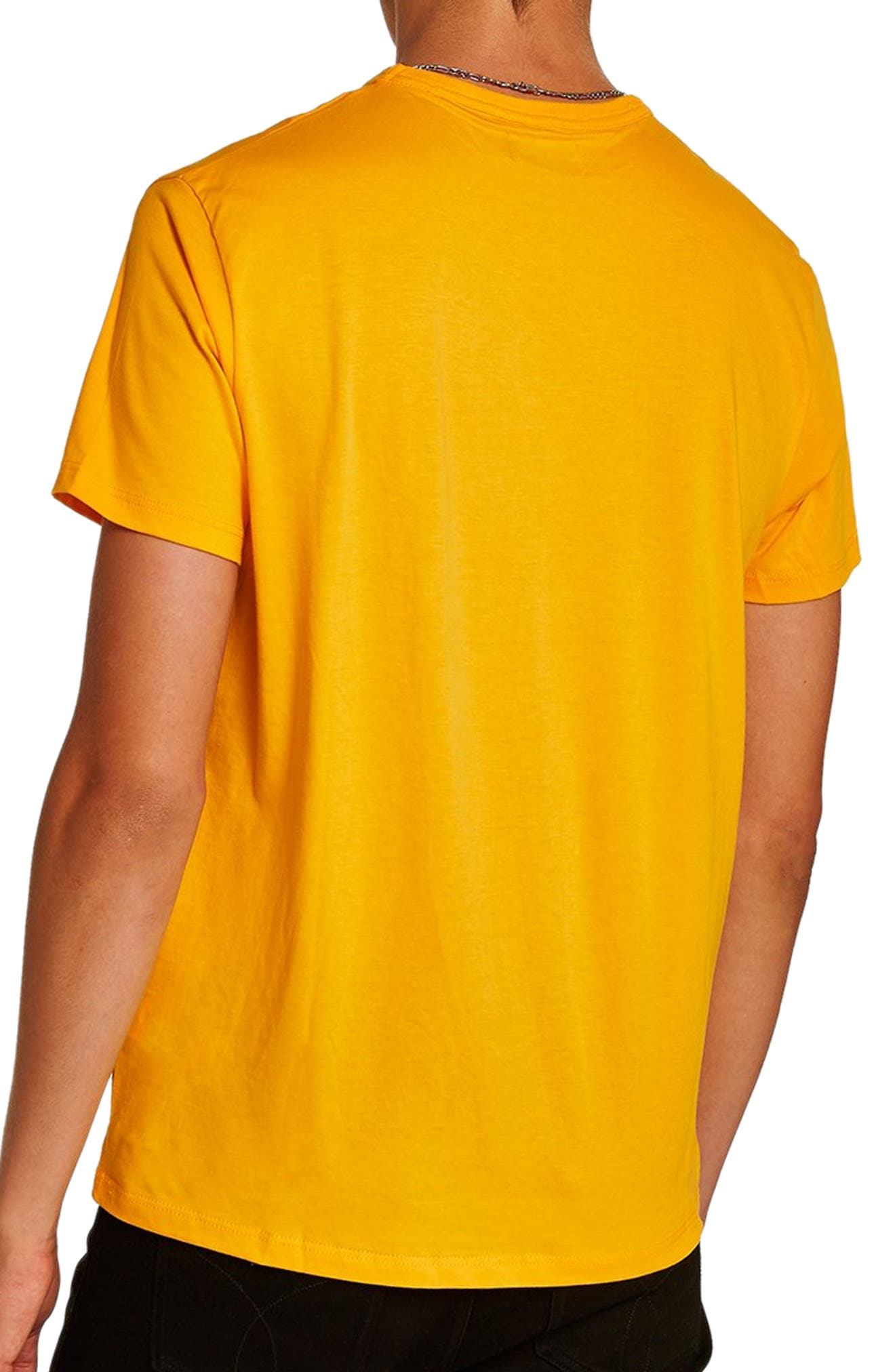 Classic Fit T-Shirt,                             Alternate thumbnail 2, color,                             Yellow