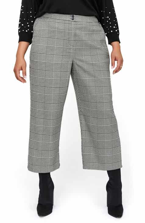 c8538ac74dc Michel Studio Wide Leg Crop Pants (Plus Size)