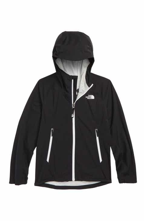 d4a765e00c94 The North Face Allproof Stretch Hooded Rain Jacket (Big Girls)