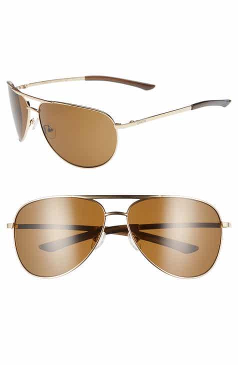 6dc17164cf Smith Serpico 2 65mm Mirrored ChromaPop™ Polarized Aviator Sunglasses