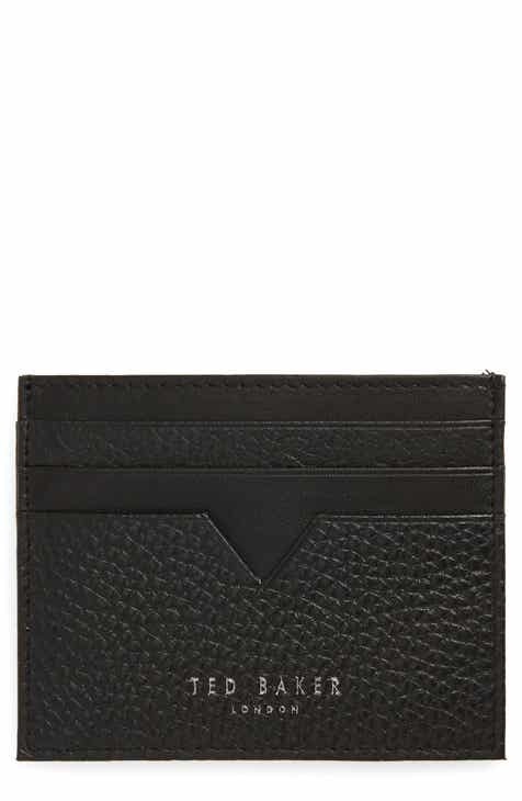 462cb14198be87 Ted Baker London Pebbled Leather Card Holder