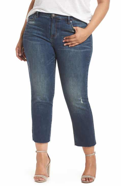 e8f6327051a31 STS Blue Cara Cuffed Slim Straight Jeans (Gordon) (Plus Size)