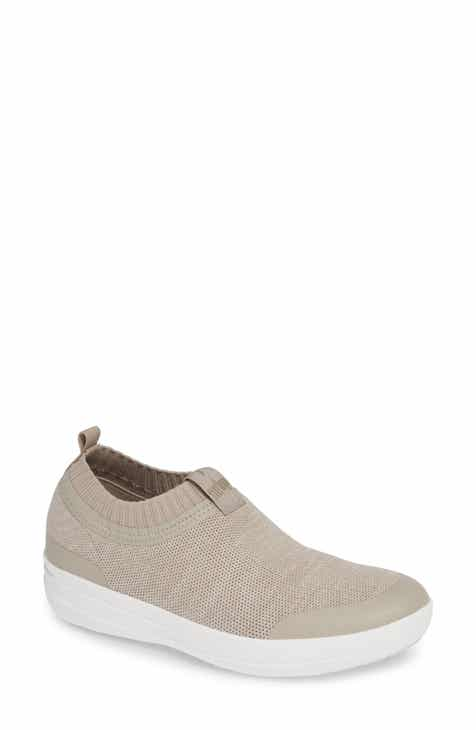 9dfbc7f89 FitFlop Uberknit Slip-On Sneaker (Women)