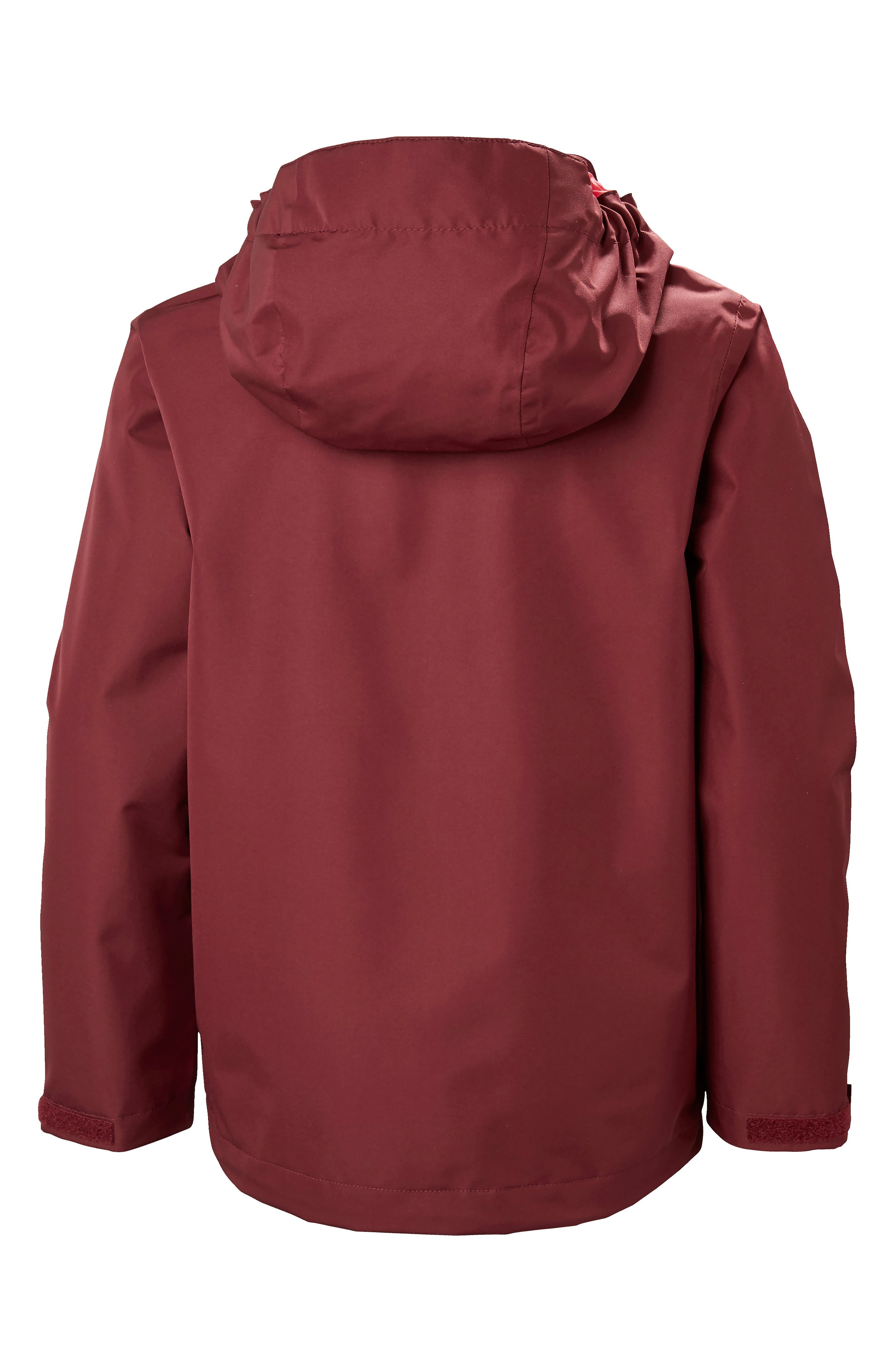 Seven Hooded Jacket,                             Alternate thumbnail 2, color,                             Cabernet