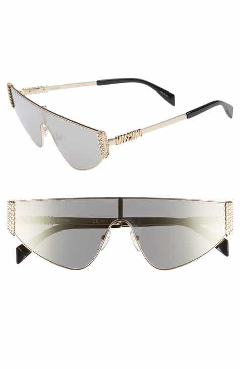 900918660d0e2 Moschino 132mm Shield Sunglasses