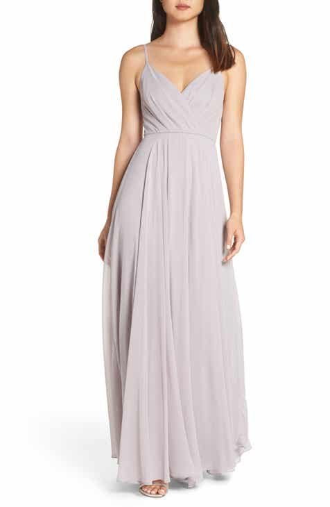 Lulus Surplice Chiffon Gown be477f518cb7