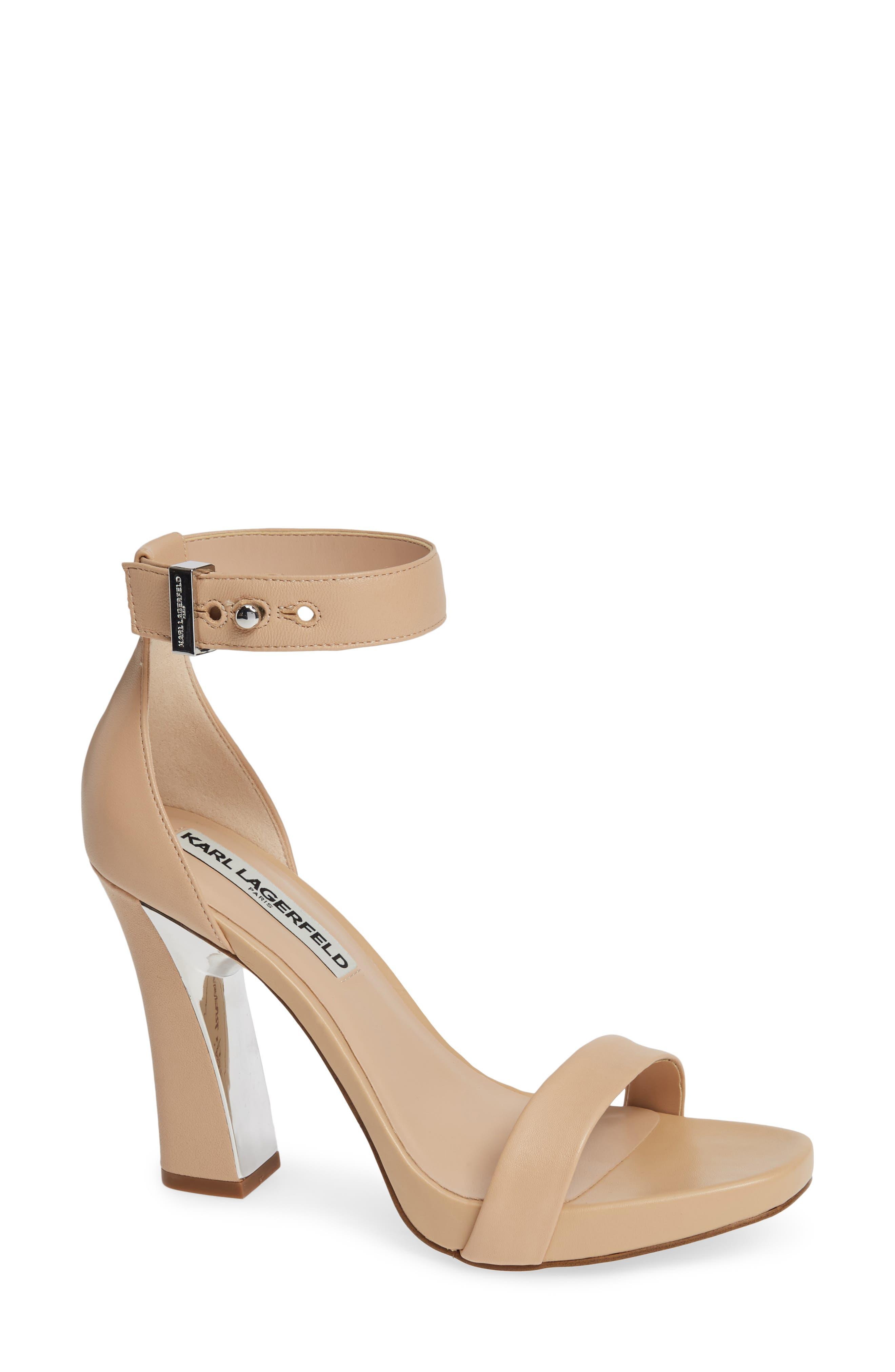 a273580d5c1 Karl Lagerfeld Paris Ankle Strap Sandals for Women