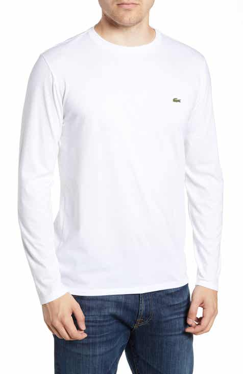bb31cf5e869ae Lacoste Long Sleeve Pima Cotton T-Shirt