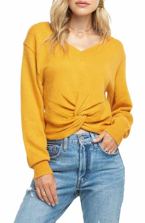 0c82ca9362 ASTR the Label Twist Front Sweater