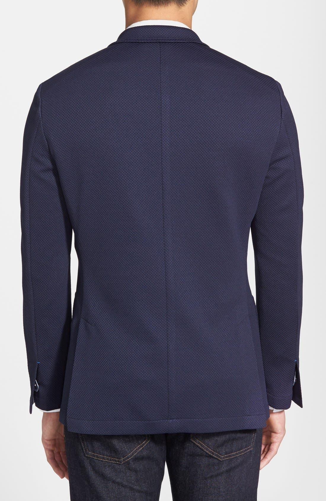 Alternate Image 2  - Vince Camuto Slim Fit Stretch Knit Blazer
