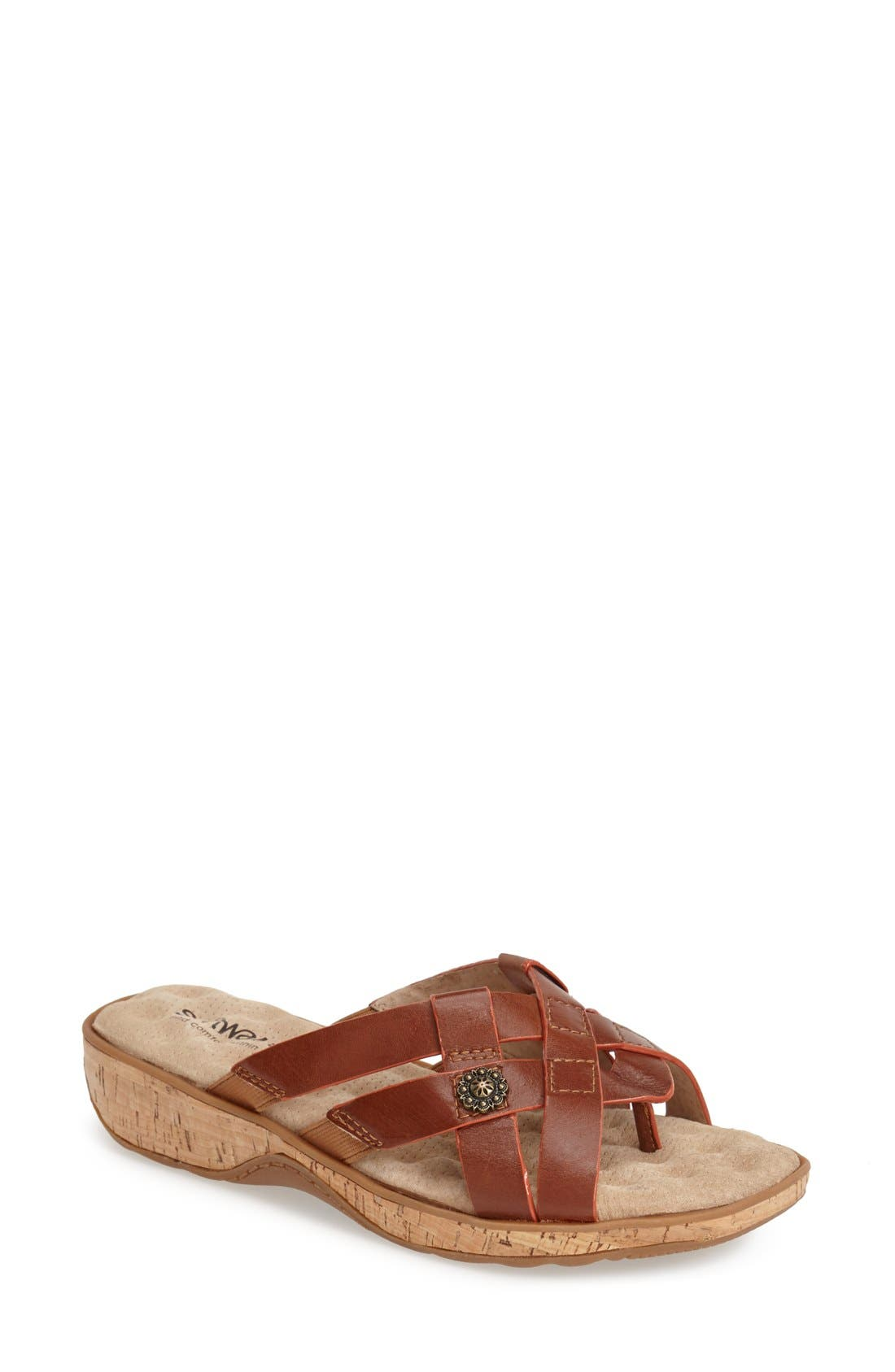 Alternate Image 1 Selected - SoftWalk® 'Beaver Creek' Sandal