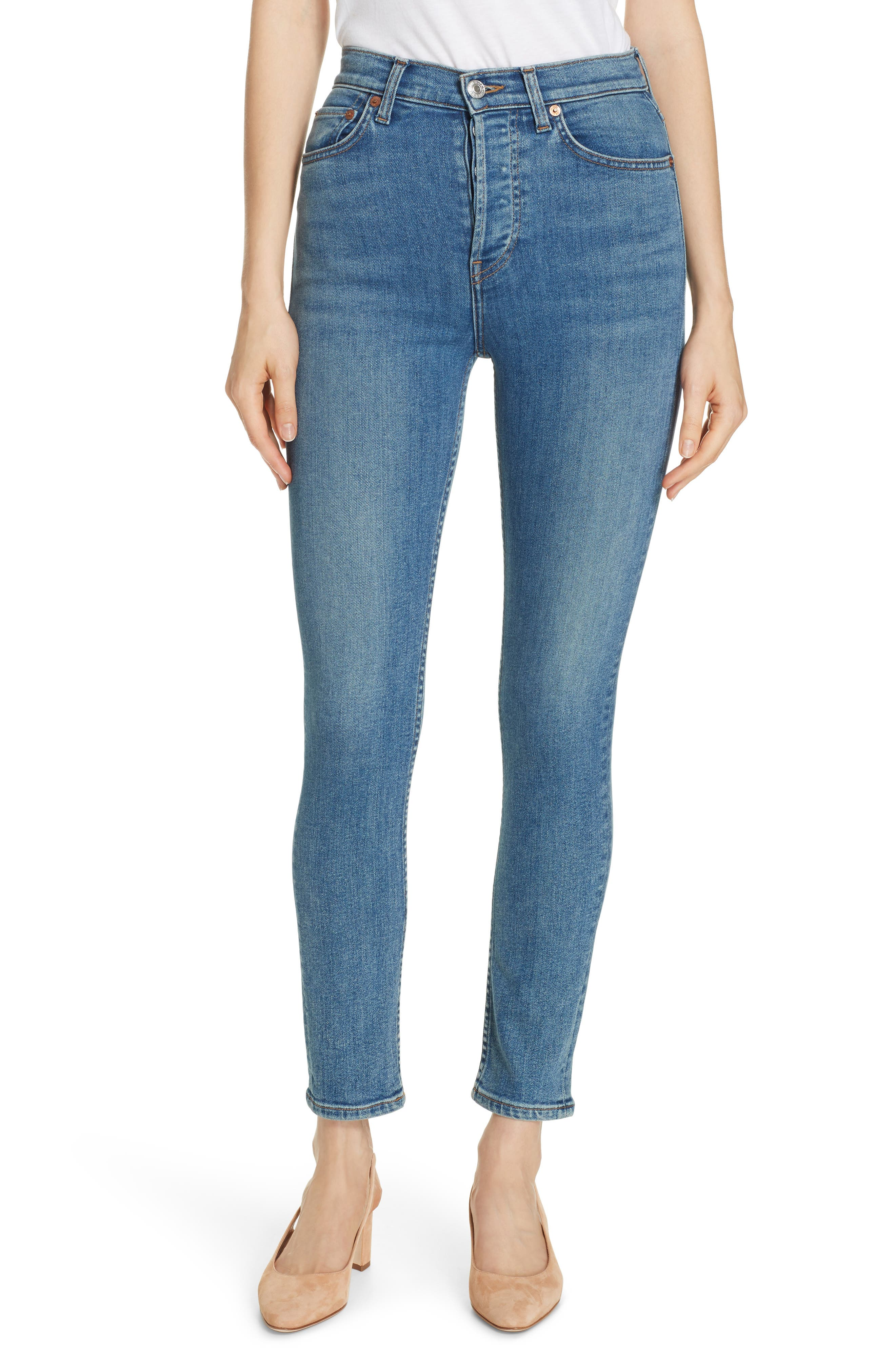 a96cc493f7f8 Women s Re Done High-Waisted Jeans