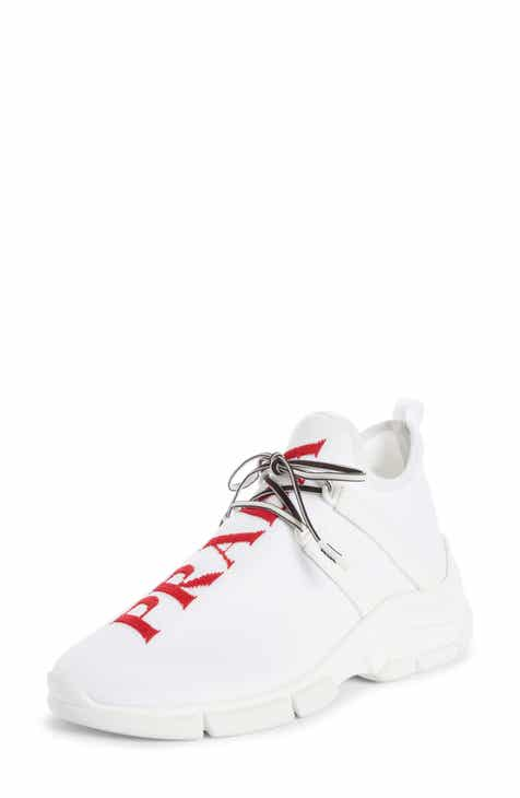 Prada Knit Sock Sneaker (Women) 8b21568df2