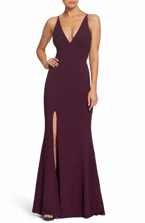 Dress The Potion Iris Crepe Gown