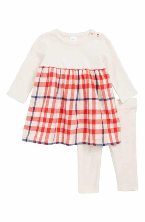 Baby Girls\' Red Clothing: Dresses, Bodysuits & Footies | Nordstrom