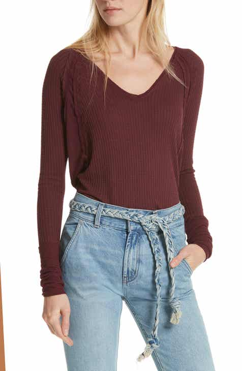 366a0af70c0 We the Free by Free People Catalina V-Neck Thermal Top