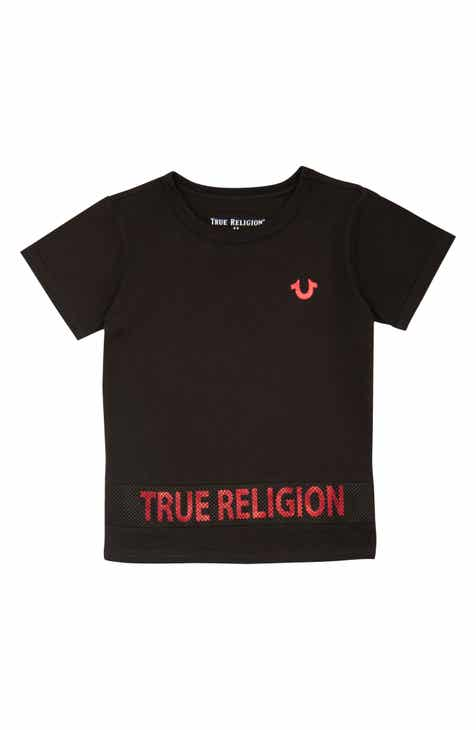 8473a3562 True Religion Brand Jeans High/Low T-Shirt (Toddler Boys & Little Boys)