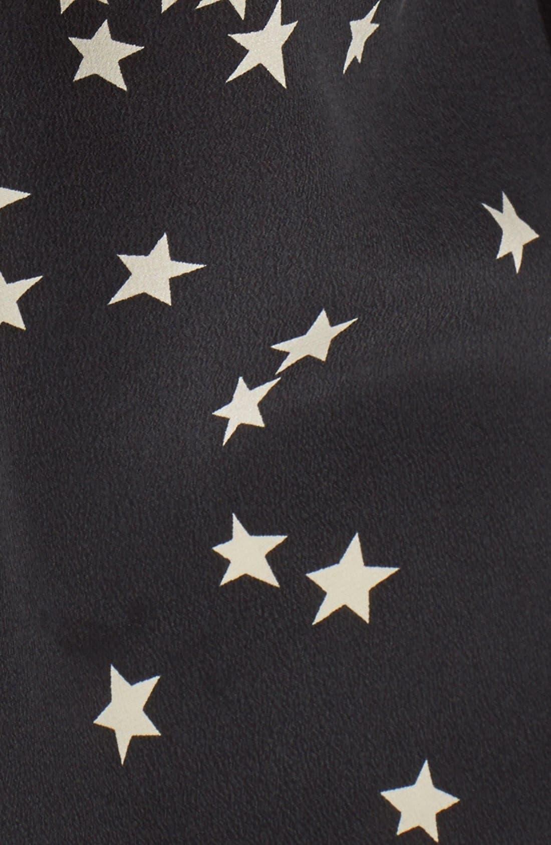 Alternate Image 2  - Equipment 'Starry Night' Silk Shirt