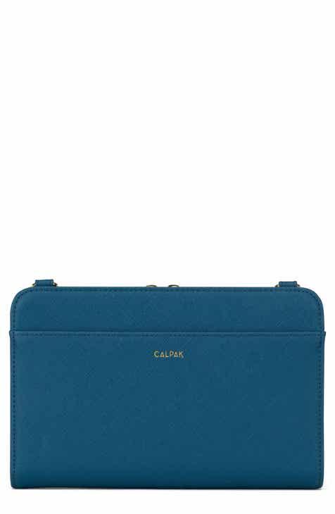 551fc55fa786 CALPAK Faux Leather RFID Travel Wallet