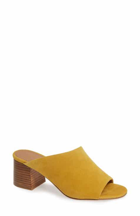 7da41fa46aa Women s Yellow Mules   Slides