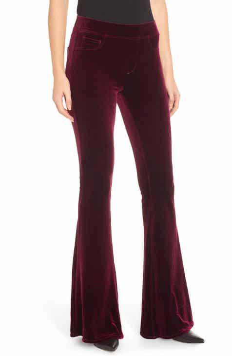 b4f7647d78c BLANKNYC Velvet Flare Pants