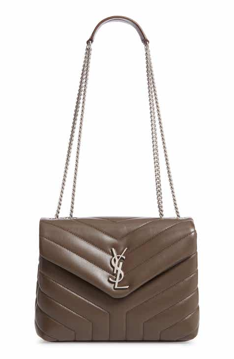 db203da1f591 Saint Laurent Small Loulou Matelassé Leather Shoulder Bag