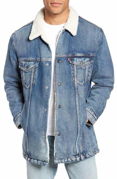 Levi s® Long Faux Fur Lined Trucker Jacket 6c842c943372