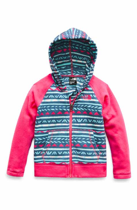 6a282aa876 The North Face Glacier Zip Hoodie (Toddler Girls   Little Girls)