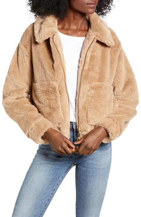 70b1e9f97cd 4SI3NNA Teddy Faux Fur Jacket