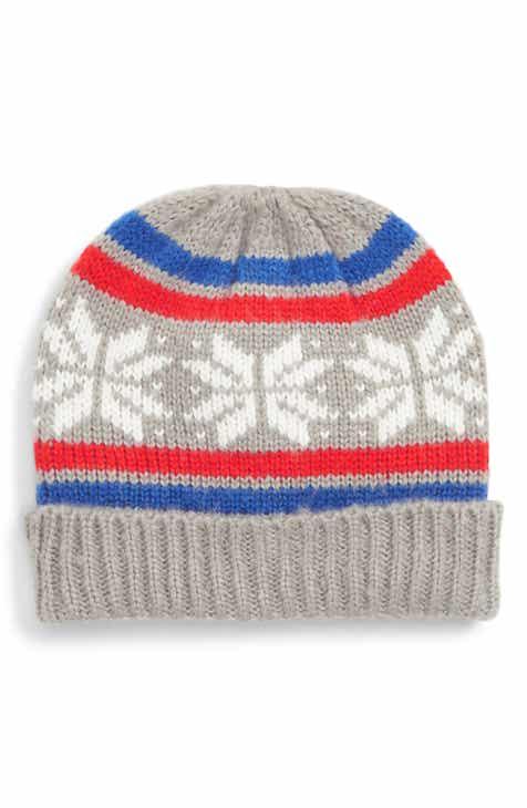 Mini Boden Fair Isle Knit Hat (Toddler Boys 54f146b5806d