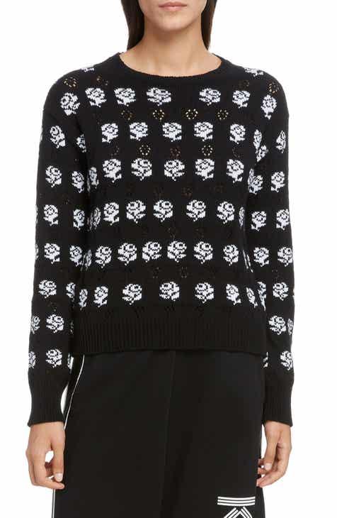 41b6abfd65c KENZO Rose Jacquard Sweater