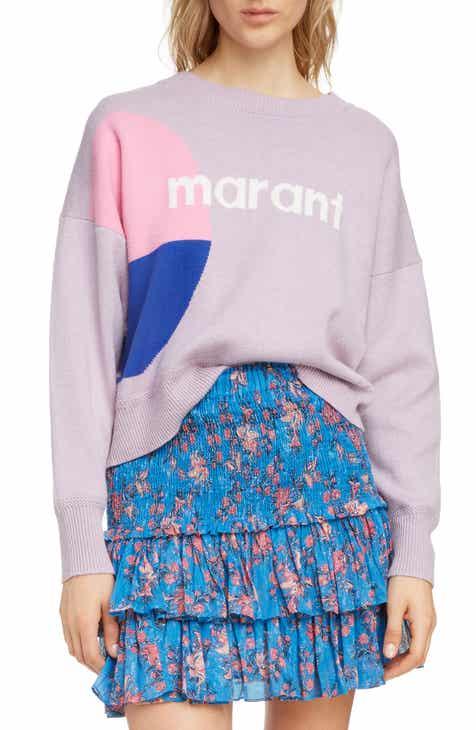 04d5589d3b Isabel Marant Étoile Korbin Logo Sweater